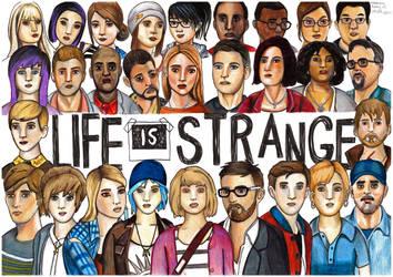 Life is Strange drawing by becksbeck