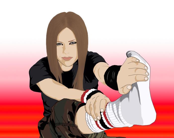 Avril Lavigne by BassPlayerX