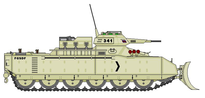 Sirius Mortar Carrier by Freethinker1984