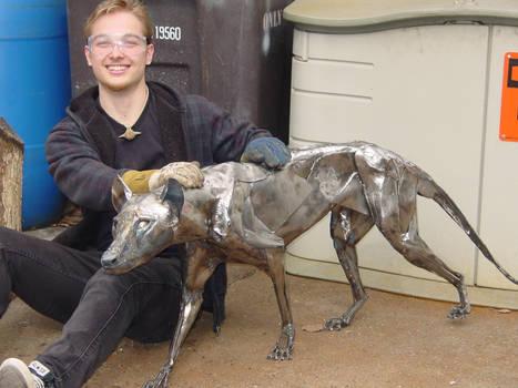 Metal Thylacine Final Polish