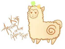 My royal alpaca by Yumikarp