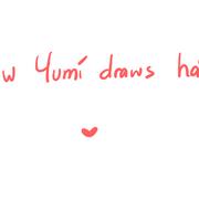 How Yumi draws hair (quick tutorial) by Yumikarp