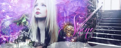 Shine Banner: 1 by Vidakraft