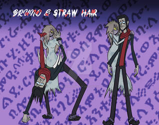 Bruno and Straw Hair