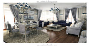 classical living room by ozhan