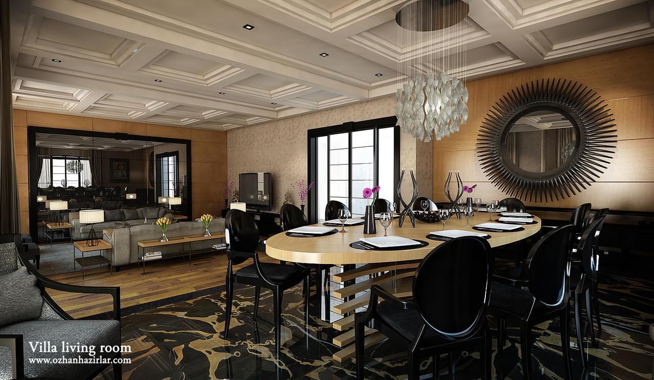 Lounge Living Room Villa Living Room Dinner Lounge By Ozhan On Deviantart