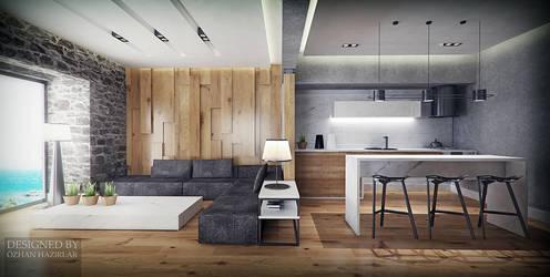 Bodrum living room