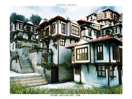 OLD TURKISH HOUSES