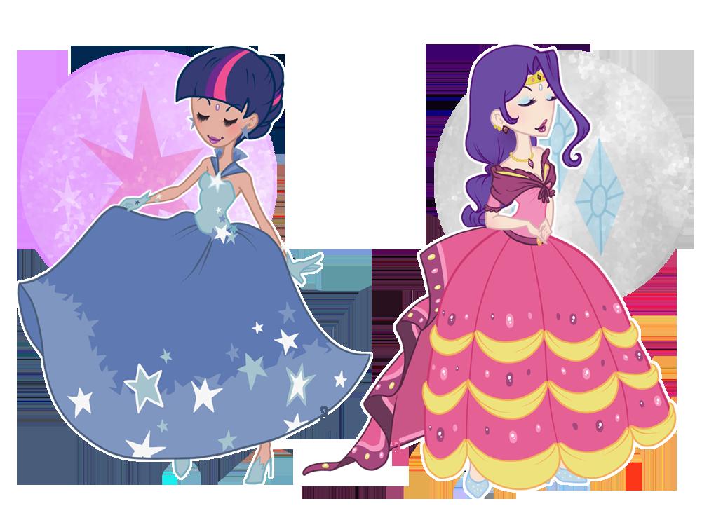 092111 - Unicorn Gala Dresses by dahli-lama