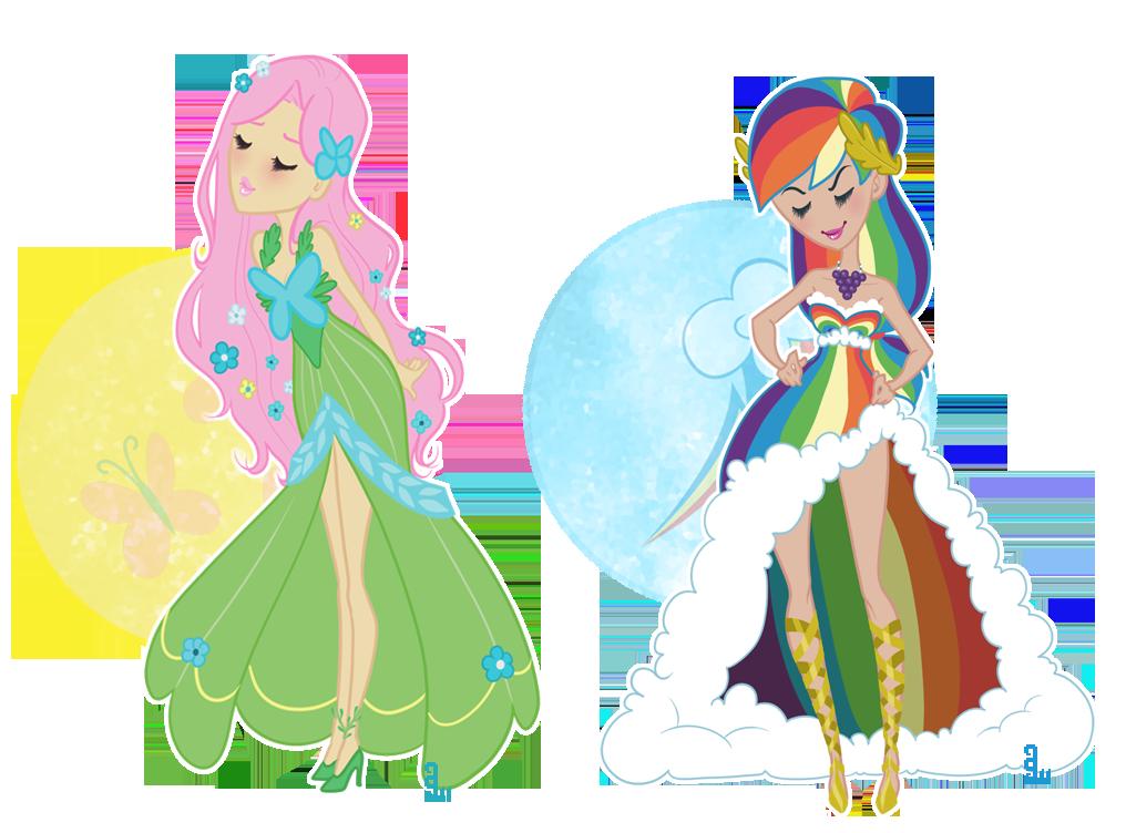 092211 - Pegasus Gala Dresses by dahli-lama