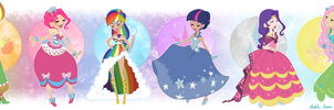 Gala Dresses- All Together Now by dahli-lama