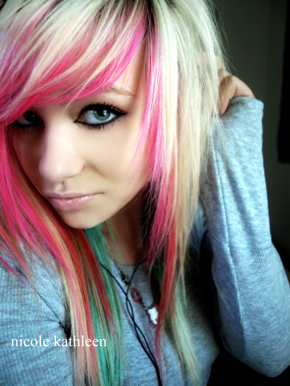 new portrait pink hair