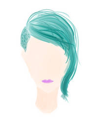 i'm only good at drawing hair
