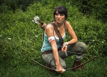 Lara Croft Cosplay by erikathegoober
