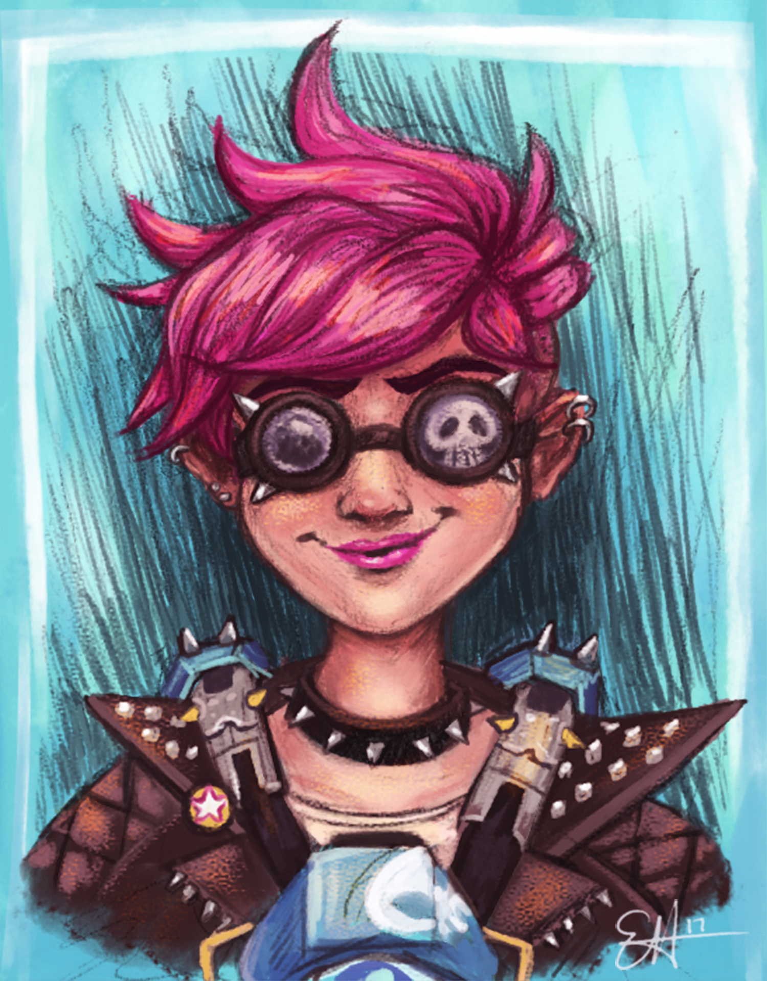 Punk Tracer by peanutfilbert