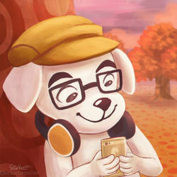 Animal Crossing Mobile by erikathegoober