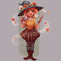Elsie the Harvest Witch