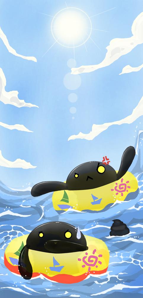 A Sunny Day on the Ocean by Laikari