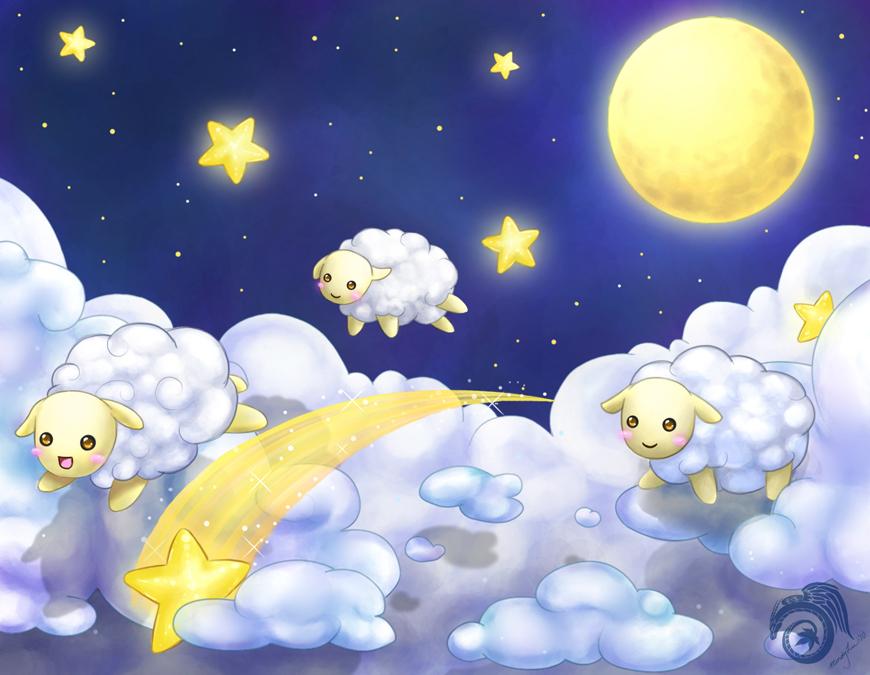 Counting Sheep by Laikari