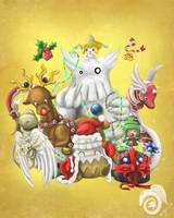 A Christmas Party by Laikari