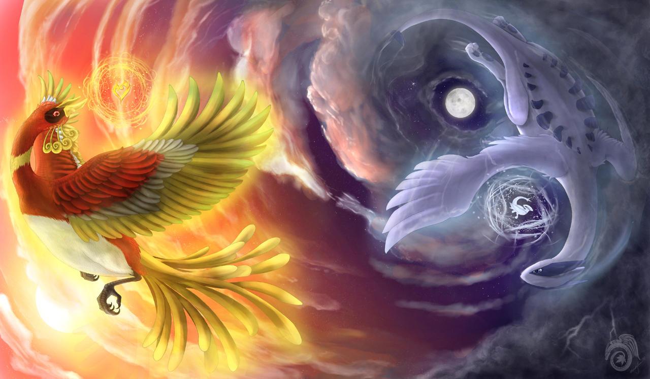 HeartGold SoulSilver by Laikari