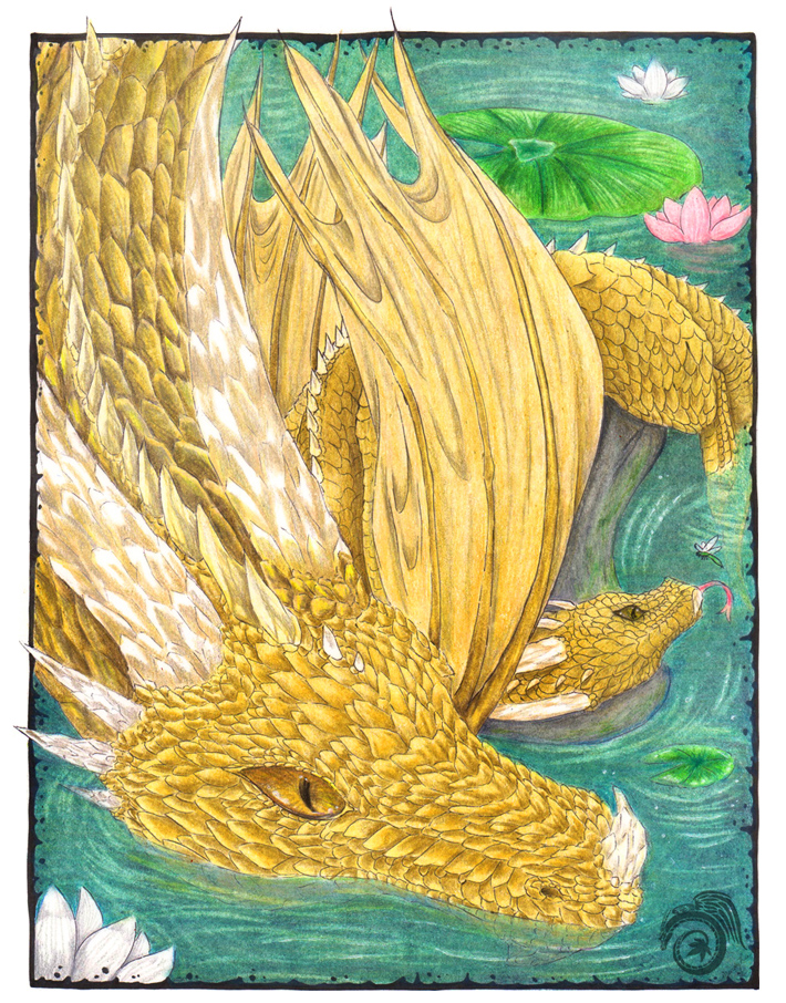 Gold Dragon by Laikari