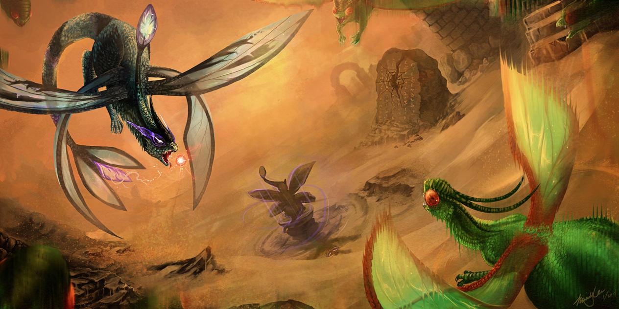 Spirit of the Desert by MapleDragon