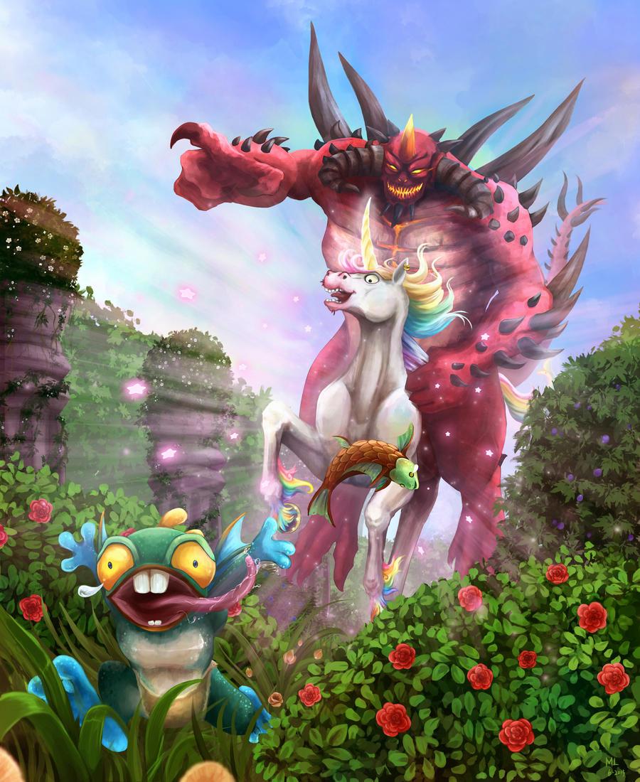 Garden of Terrors by Laikari