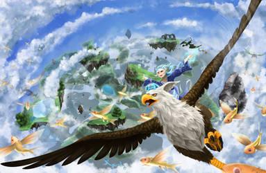 Soar into Heavensward by Laikari