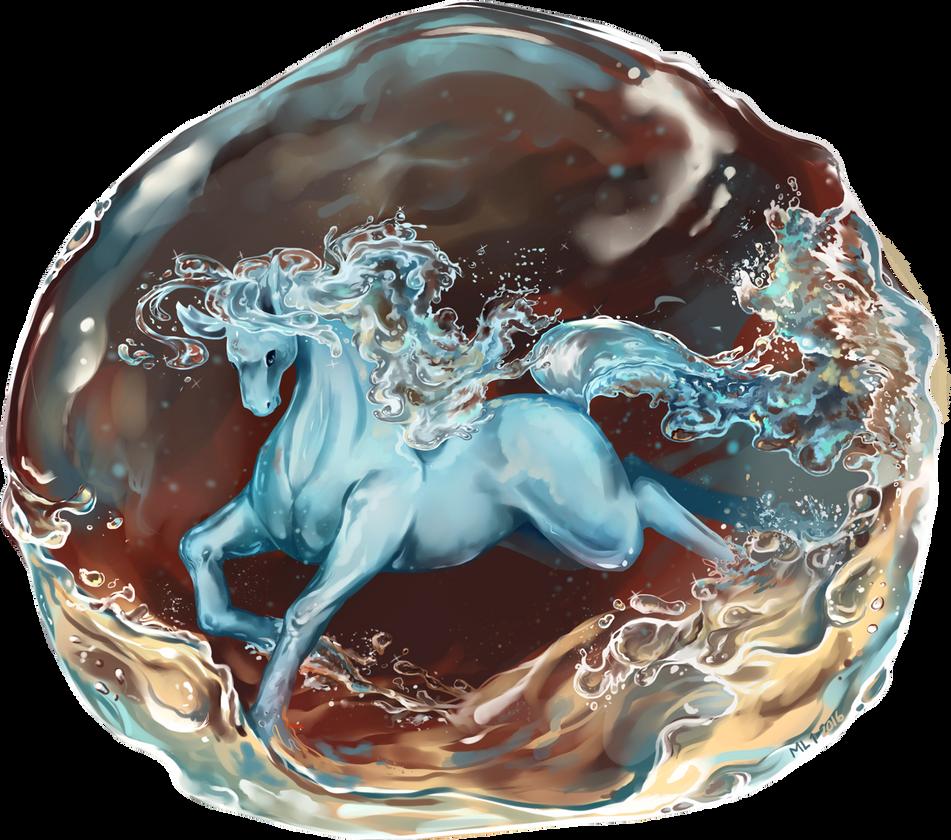 Water Horse by Laikari