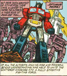 OPTIMUS PRIME COMIC EDIT