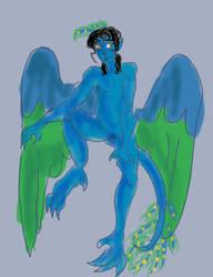 Song in Blue by DevaBlue