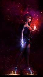 Fire and Lightning by Val1511