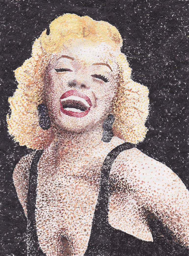 Marilyn Monroe by siouxz