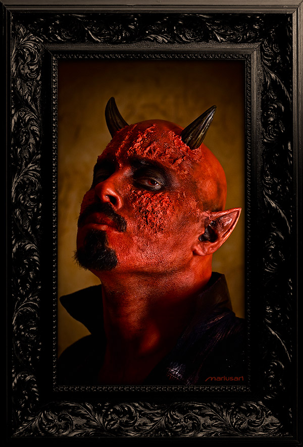 Portrait of the Devil by Mariusart
