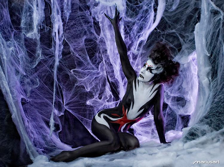 The Black Widow I by Mariusart