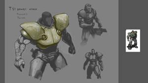 T51 power armor.