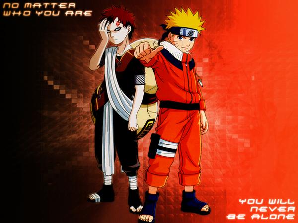 Naruto And Gaara