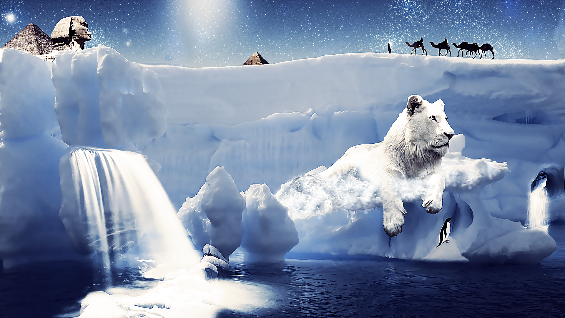 White Lion 11 By Z Designs