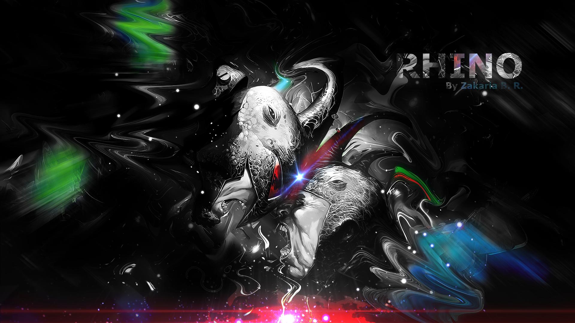 Amazing Wallpaper Marvel Deviantart - rhino___marvel_v2_by_z_designs-d57qrdm  2018_406471.png