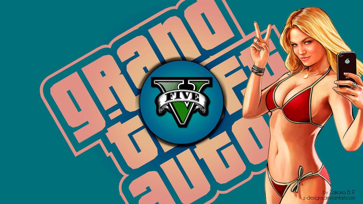 GTA V wallpaper v4 by Z-Designs