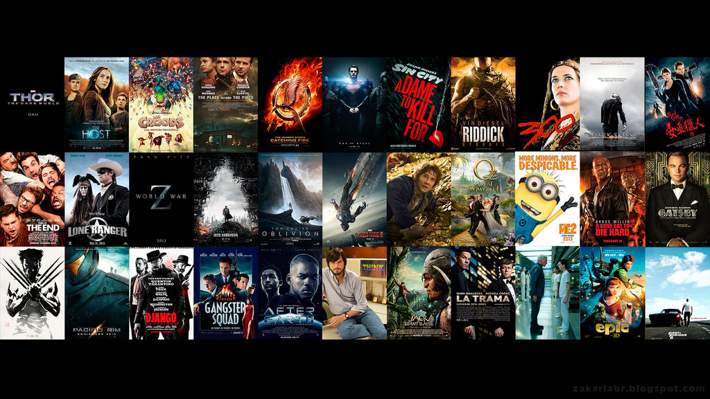 2013 Movies Wallpaper by Z-Designs on DeviantArt