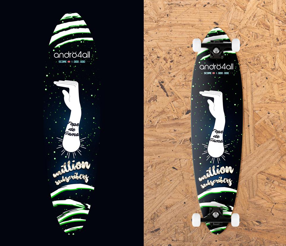 Longboard custom design by Z-Designs