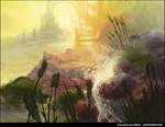 Sunlit Environment