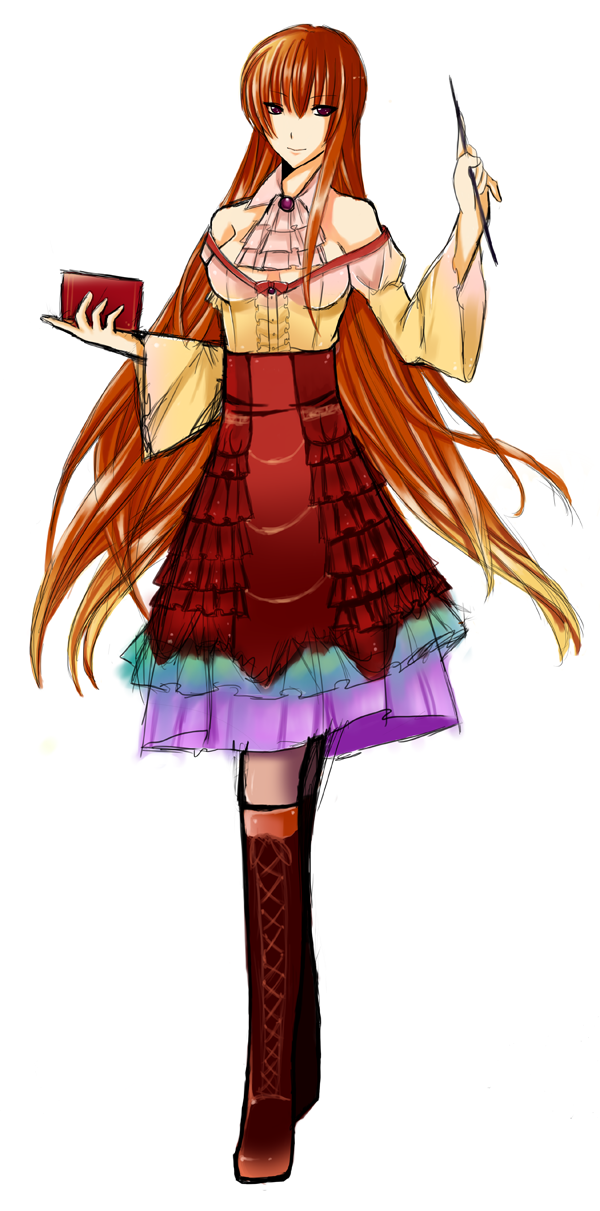 Character: Mrs. Kanae VN by wirelesskid