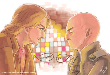 The true reason Charles Xavier cries .... by Reenze-NK