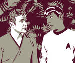 TOSART: Kirk and Spock 1