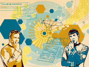 TOSART: Kirk and Spock 2
