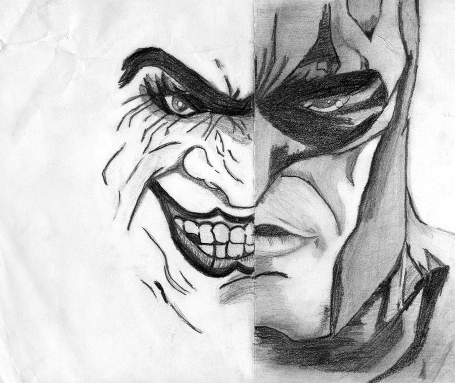 Cool Batman And Joker Drawings | www.imgkid.com - The ...