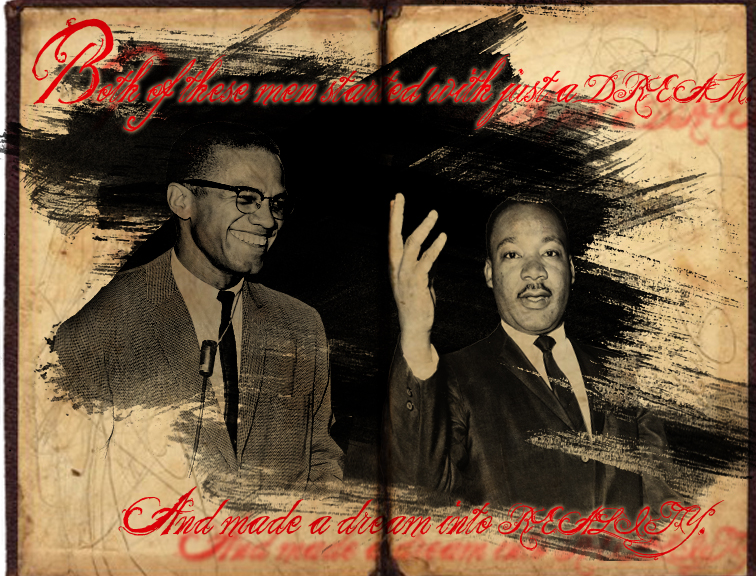 the early backgrounds of martin luther king jr and malcolm x This book is broken up chronologically and will talk about malcolm's early years than martin's  limitations of martin luther king jr and malcolm x as religious.